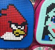 Рюкзак піксель мозаїка