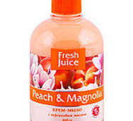 Мыло жидкое Fresh Juice Peach & Magnolia 460 мл.