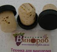 Коньячна пробка з натурального корка 27х19 купити в Одесі