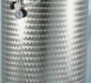Ємність нержавіюча з плаваючою кришкою пневматична 400 л купити в Чернівцях
