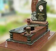 Одинарний гранітний пам'ятник №89 купити в Луцьку