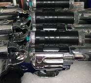 Пистолет, зажигалка, лазер и шокер