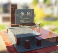 Подвійний пам'ятник гранітний №72 купити в Луцьку