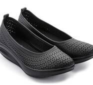 Балетки Walkmaxx Casual 4.0  Comfort  42 Длина стопы 27,5 см  Черный