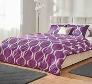 Комплект постельного белья Dormeo Yin&Yan  Фиолетовый  200х200 см