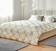Комплект постельного белья Dormeo Yin&Yan  Белый  200х200 см