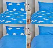 Постельное белье для детей Dormeo Warm Hug Kids  Синий  140х200 см