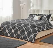 Комплект постельного белья Dormeo Yin&Yan  Серый  140х200 см