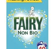 Fairy NON BIO Пральний порошок 40 прань 2,6 кг Англія