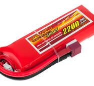 Аккумулятор Dinogy Li-Pol 2200mAh 7.4V 2S 30C 17x37x113мм T-Plug