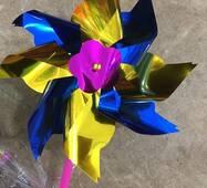 Вітряк квітка 2 ух кольоровий
