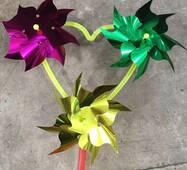 Вітряк Серце на 3 квітки