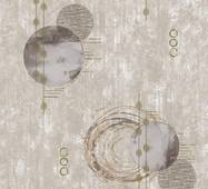 Обои бумажные Континент Новаро бежевый 1368
