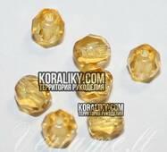 (STKB10050-04) Стеклянные бусины круглые граненые размер 4 мм