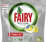 Fairy Platinum Таблетки для посудомоечной машины 16 Бельгия