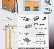Розсувна система для шаф нижнього спирання PKM80T