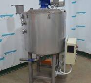Ємнісне обладнання з нагріванням і мішалкою для рідких і густих продуктів купити в Україні