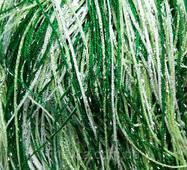 Штори нитки веселка дощ номер1 + 15 + 211 білий + салатовий + зелений