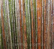 Штори нитки веселка дощ номер 3 + 13 + 14 + 19 помаранчевий + шампань + бежевий + зелений