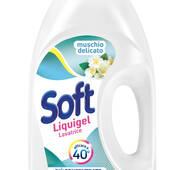 Гель для прання Білий мускус Soft Muschio Bianco, 45пр/2,5л