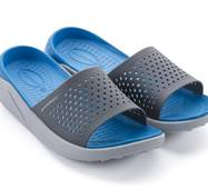 Шлепанцы Walkmaxx Fit 4.0   45 Длина стопы 28,5 см  Синий