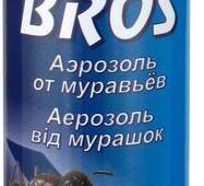 Інсектицидний засіб БРОС аерозоль від мурашок за 150 мл