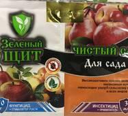 """Зеленый щит """"Чистый сад"""" для яблонь и груш 3 мл + 10 г"""