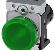 Світловий індикатор, компактний, 22 мм, 3SU1251-6AF40-1AA0, Siemens