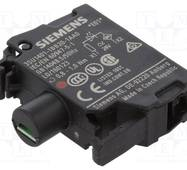 Модуль підсвічування з інтегрованим світлодіодом 24В AC/DC, червоне світло, 3SU1401-1BB20-1AA0, Siemens