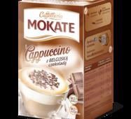 Капучіно Mokate Сaffetteria Cappuccino Belgian Chocolate, 15гx10 шт
