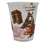 """Бумажный стаканчик для вендинга """"Париж"""", 175 мл"""