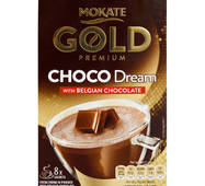 Шоколад Mokate Gold Premium Choco Dream with Belgian Chocolate, 25г*8шт