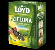 Чай листовой Loyd Zielona, лимон и грейпфрут, 80г