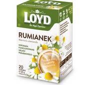 Чай в квадратных пакетиках Loyd Ромашка, 1,5г*20шт
