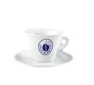Чашка с блюдцем для капучино Caffe BORBONE, 6 шт
