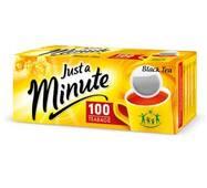 Чай в пакетиках Just a Minute , черный, 1,4g*100 шт