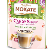 Капучино Mokate Caffetteria Candy Shop Cafe Latte French Macaroni, 110г.