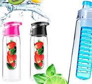 Пляшка для води Fruit Bottle з контейнером для фруктів 700 мл 241
