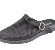 Обувь (сабо) мужская медицинская, Молдавия, модель Ионел черная р.40- р.46 41