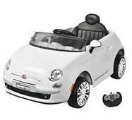 Електромобіль Fiat (Z651R) - WHITE (Білий)