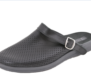 Обувь (сабо) мужская медицинская, Молдавия, модель Ионел черная р.40- р.46