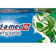 Зубна паста Blend-a-med complete 2 in 1 з ополіскувачем М'яка свіжість 75 мл
