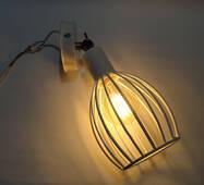 """Настенный светильник, спот поворотный, потолочная лампа, на одну лампу, белый цвет """"CACHE/LS-W"""""""