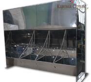 Годівниця для свиней, IV- секційна (нержавіюча сталь)