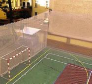 Сетка заградительная (разделительная) белая для улиц и залов, 40х40, 4,5 мм