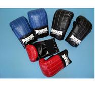 Перчатки (биточки) Boxer тренировочные кожа. Украина (M,L,XL)