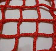 Сетка заградительная (разделительная) капроновая цветная для улиц и залов, 100х100, 4,5 мм