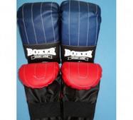 Перчатки (биточки) Boxer тренировочные Элит кожвинил. Украина