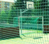 Сетка заградительная (разделительная) цветная для улиц и залов, 50х50, 3,5 мм