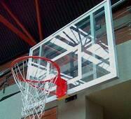 Щит баскетбольный 900х600 мм (оргстекло 8 мм) с силовой антивибрационной рамой